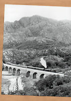 "44767 George Stephenson at Loch Nan Viaduct 16/8/86 Original 10""x8"" photo"