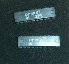 LM1311CN (2 pcs) Original Dolby Noise Reduction IC, National Semiconductor, NEW
