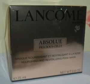 LANCOME Absolue Precious Cells Nourishing & Revitalizing Rose Mask 2.6 OZ BNIB