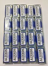 20 Empty Altoids Metal Tins Blue Peppermint Arctic Cool Mint