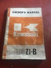 KAWASAKI Z1 900 Z1 900B ORIGINAL OWNER'S MANUAL OWNERS  Z1 Z900 KZ900 B Z1B #12