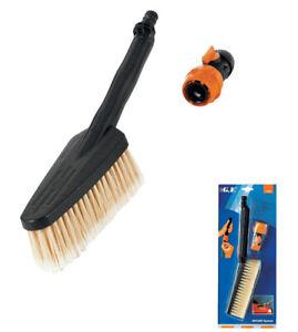 kit spazzola piccola fissa per lavaggio auto art 5224 raccordo portatubo