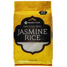 Member's Mark Thai Hom Mali Fragrant Jasmine White Rice Long Grain
