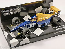 1989 TYRRELL FORD 018 F1 Jean Alesi 1/43 scale model Minichamps