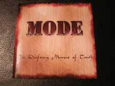 MODE - The Deafening Moment of Truth - 2005 Private CD / Punk Hard Rock Metal