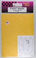 Splash Design Paint Mask 1/10 scale Parma R/C PAR10794