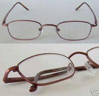 ZiZi Unisex Rectangle Reading Glasses CHIANTI +1.25