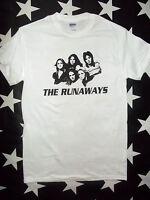 The Runaways glam U.S. punk rock t-shirt sizes S - 3XL+ Joan Jett Lita Ford