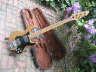 Peavey T-40 Bass, Orig Hard Case, Pro Serviced Solid Body Electric 1981 s/n for sale