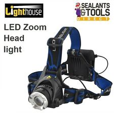 Lighthouse Elite Pro Super Power CREE LED Head Torch Headtorch Light Lamp