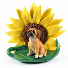 Puggle Sunflower Figurine
