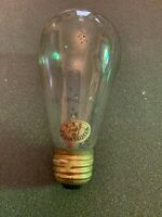 Antique circa 1900 Westinghouse 16 Candle Power Light Bulb Tipped