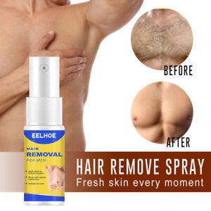 EELHOE Painless Hair Removal Spray Permanent Depilatory Cream Soft Skin 10-50ml#