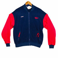 Columbia Men's Blue Vintage Minnesota Twins Full Zip Fleece Jacket - Size Large