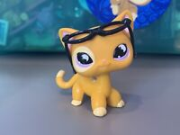 littlest pet shop short hair cat authentic 855