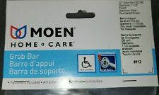 Moen Home Care 12-in Stainless Steel Wall Mount Grab Bar 8912