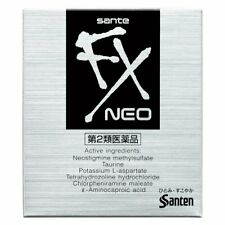 Sante FX Neo Eye Drops Cool level 5 2Pack 12ml Santen Made in Japan