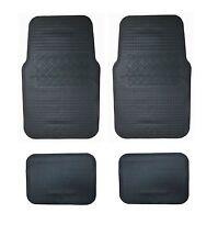 Fußmatten Automatten 4tlg. Gummimatten Auto Schwarz für MERCEDES OPEL SEAT
