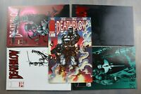 Group of 5 Image Comics DEATHBLOW - #1 #2 #8 #9 #12