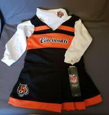 Toddler 18 Months Cincinnati Bengals Cheerleading 2 Piece Outfit NFL Apparel