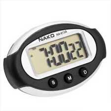 selbstklebende MINI digital Uhr LCD Multifunktions für PKW Alarm Autouhr NA-813A