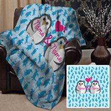 Édredons et couvre-lits bleus polaire