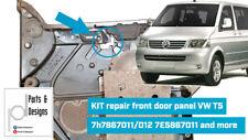 KIT repair front door pair LEFT & RIGHT VW T5 7h7867011/012 7H0867103M 7E5867011