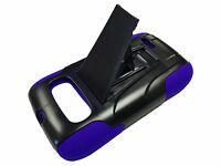 Kickstand Hard Soft Dual Impact Hybrid Cover Case For ZTE Z432 Phone Accessory