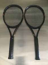 Two (2) Wilson Burn FST 95 Tennis Racquets Gripsize 4 1/4 in Excellent Condition