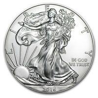 2016 - 1 oz American Silver Eagle Coin - One Troy oz .999 Bullion