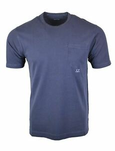 C.P Company SS21 Greystone Chest Pocket T-Shirt RRP £105