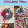 Fold'n Stitch Wreath pattern (pattern only-not the finished project)