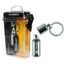 NEBO True Utility TU262 FireStash Waterproof Mini Refillable Lighter Key Ring