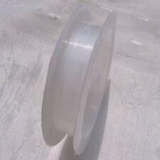 18m environs fil de pêche 0.5mmtransparent élastique stretch nylon cristal C252