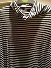 womens polo neck striped top 18