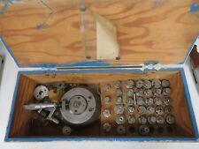"""Cam Micrometer Set in case - .0001"""" - Scherr Tumico Mic Head & Accessories"""