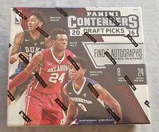 Panini Contenders Draft Picks Basketball Hobby Box NBA 2016/17 5 Autographs