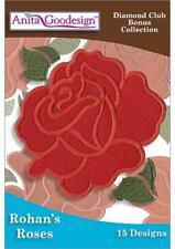Rohan's Roses Anita Goodesign Embroidery Machine Design Cd