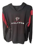 Atlanta Falcons NFL Reebok  Heavy Duty Hoodie Sweatshirt Black Large