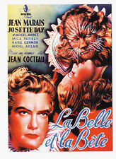 LA BELLE ET LA BETE carte postale n° PC 8479 Jean MARAIS Josette DAY