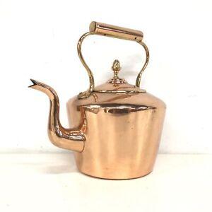 Antique Copper Kettle #454