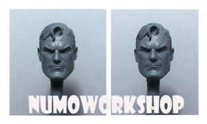 """SuperM Alex Ross V2 Custom 1:6 scale unpainted head for 12"""" body figure Hot Toys"""