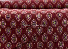 2.5 Yard Indian Floral Print Beautiful Jaipuri Printed 100% Cotton Cloth Fabric