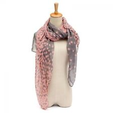 Pink women scarf large neck  fashion cotton lady ligh fabric shawl winter wrap
