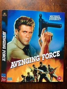 Avenging Force Blu-ray Slipcover ONLY - NO DISC!!!!! from the 88 Films Release