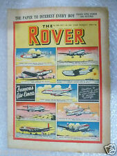THE ROVER Comic, No.1424, 11th Oct 1952- Famous Air Liners