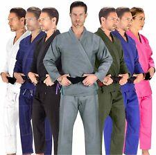 Elite Sports BJJ GI for Men IBJJF Kimono BJJ Jiu Jitsu, Gray, Size 1.0 US