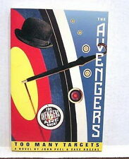 1990 TV Series Novel THE AVENGERS Too Many Targets- Peel & Rogers-Softcover Book