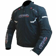 ARMR Moto Osugi Waterproof Sports Textile Motorcycle Jacket Racing Black New (L)