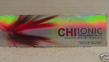 Original CHI Hair Color Permanent Shine IONIC Ammonia Free (Levels 1-9) ~ 3 oz!!